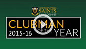 Saints Clubman of the Year